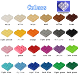 200pcs/lot cheap Bulk Small Building Block Accessory Classic Particles Lego Type Bricks DIY toys